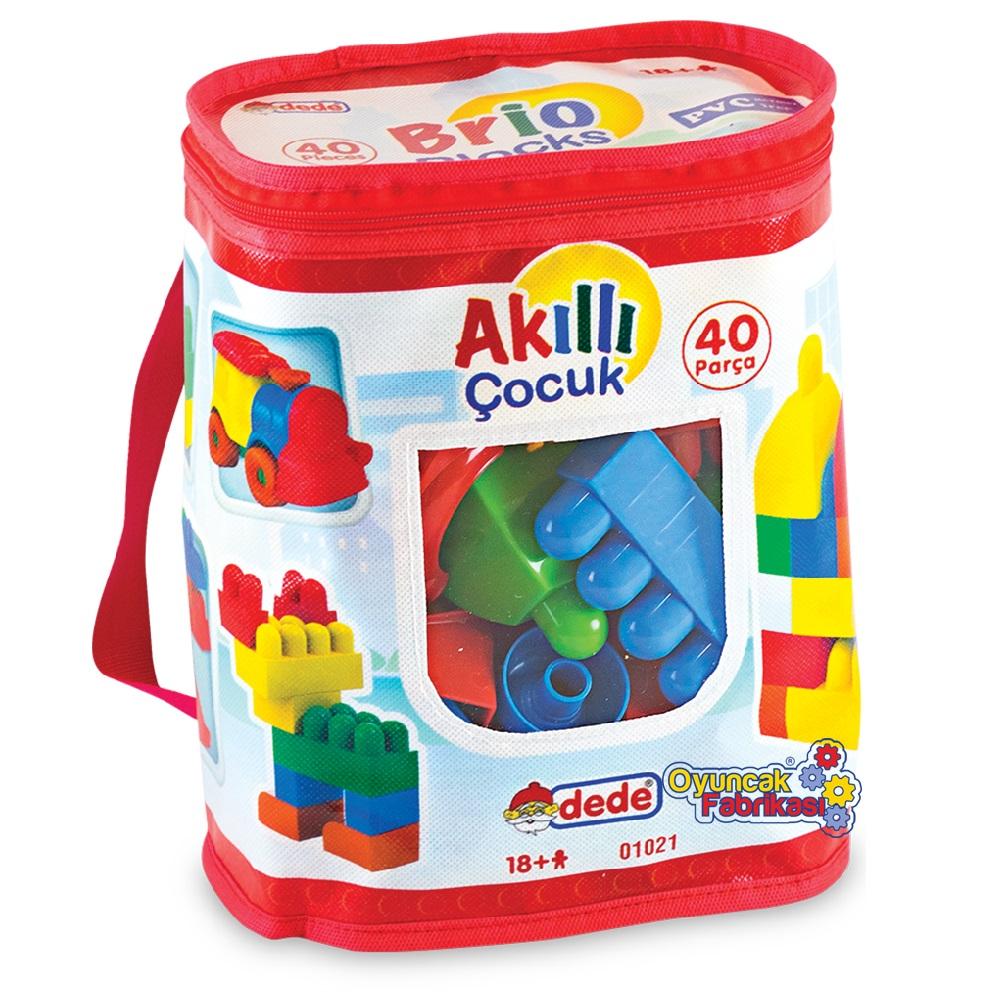 Akıllı Çocuk  Lego 40 Parça