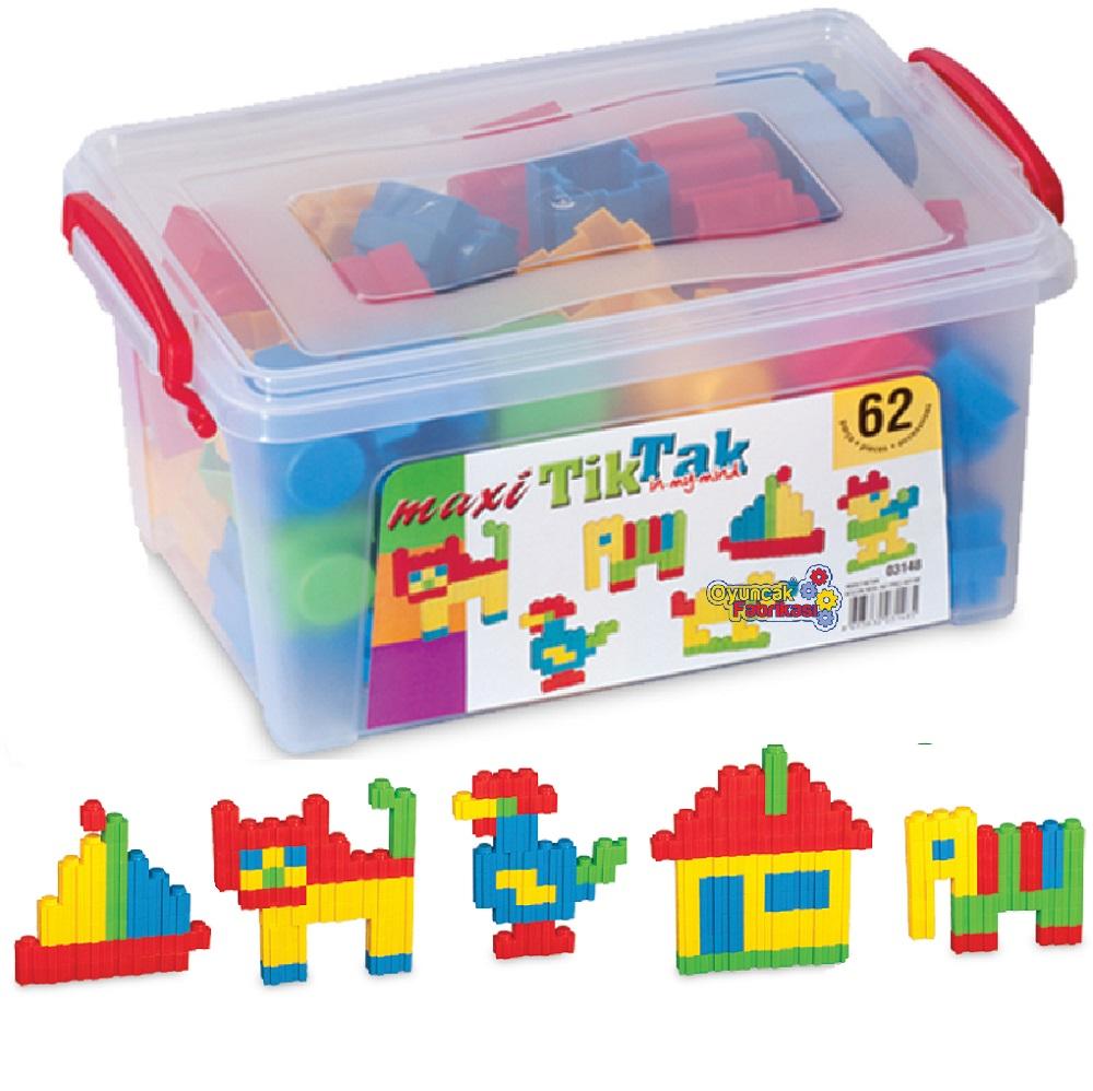 Maxi Tiktak Küçük Box 62 Parça