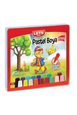Lets 36 Renk Çantalı Pastel Boya
